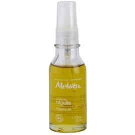 Melvita Huiles de Beauté Nigelle čistiaci povzbudzujúci olej na tvár a telo  50 ml