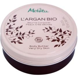 Melvita L'Argan Bio výživné telové maslo pre veľmi suchú pokožku  100 ml