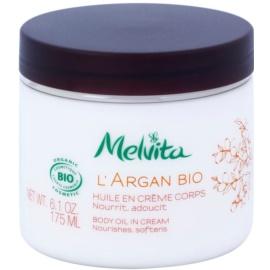 Melvita L'Argan Bio výživný telový krém pre jemnú a hladkú pokožku  175 ml
