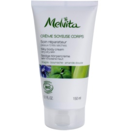 Melvita Les Essentiels creme corporal suave para pele muito seca   150 ml