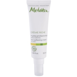 Melvita Les Essentiels crema hidratante alisadora  para pieles secas  50 ml