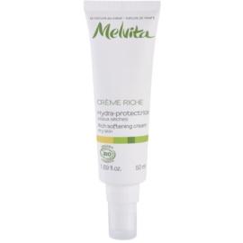 Melvita Les Essentiels kisimító és hidratáló krém száraz bőrre  50 ml