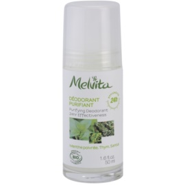 Melvita Les Essentiels golyós roll-on dezodor alumínium mentes 24h  50 ml