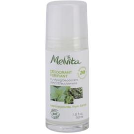 Melvita Les Essentiels dezodorant roll-on bez obsahu hliníka 24h  50 ml