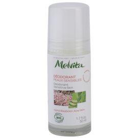 Melvita Les Essentiels дезодорант кульковий без вмісту алюмінія для чутливої шкіри  50 мл