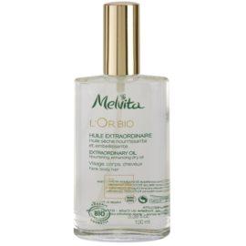 Melvita L'Or Bio vyživujúci suchý olej na tvár, telo a vlasy  100 ml