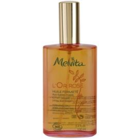 Melvita L'Or Rose zpevňující tělový olej s vyhlazujícím efektem  100 ml