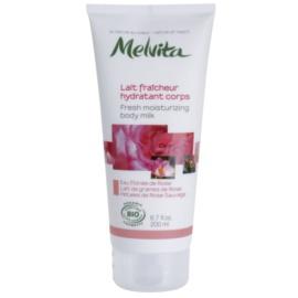 Melvita Nectar de Roses osvěžující tělové mléko s hydratačním účinkem  200 ml