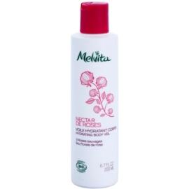 Melvita Nectar de Roses leichte Körpermilch mit feuchtigkeitsspendender Wirkung  200 ml