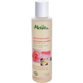 Melvita Nectar de Roses osvěžující micelární voda na obličej a oči  200 ml