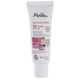 Melvita Nectar de Roses BB krém SPF 15 odstín Rose des Sables/Nude Rose 40 ml