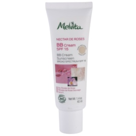 Melvita Nectar de Roses crema BB  SPF 15 tono Rose des Sables/Nude Rose 40 ml