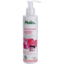 Melvita Nectar de Roses освежаващо почистващо мляко  200 мл.
