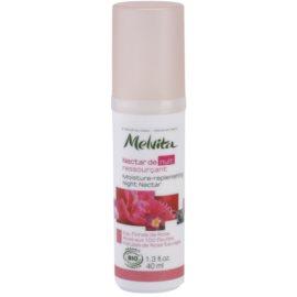 Melvita Nectar de Roses noční hydratační sérum s omlazujícím účinkem  40 ml