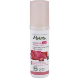 Melvita Nectar de Roses feuchtigkeitsspendendes Nachtserum mit Verjüngungs-Effekt  40 ml