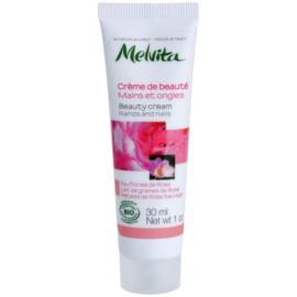 Melvita Nectar de Roses krém na ruce a nehty  30 ml