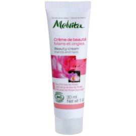 Melvita Nectar de Roses krém na ruky a nechty  30 ml
