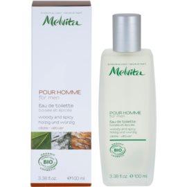 Melvita Pour Homme Eau de Toilette für Herren 100 ml  Cedar - Vetiver
