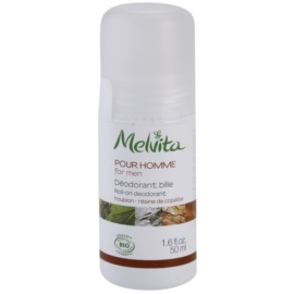 Melvita Pour Homme Roll-On Deodorant Without Aluminum Content  50 ml