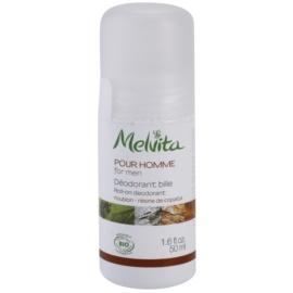 Melvita Pour Homme deodorant roll-on fara continut de aluminiu  50 ml