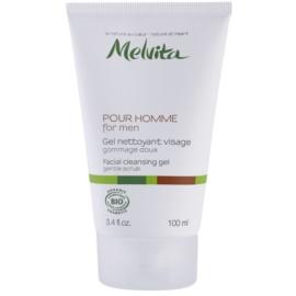 Melvita Pour Homme очищуючий гель для шкіри  100 мл