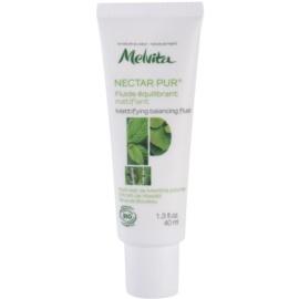 Melvita Nectar Pur mattierendes Fluid  für fettige und Mischhaut  40 ml