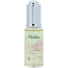 Melvita Rose+ aceite facial con efecto antiarrugas  30 ml