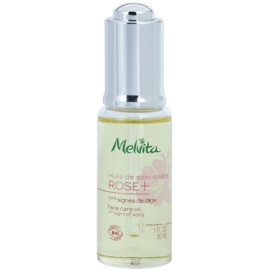 Melvita Rose+ Facial Oil With Anti-Wrinkle Effect  30 ml