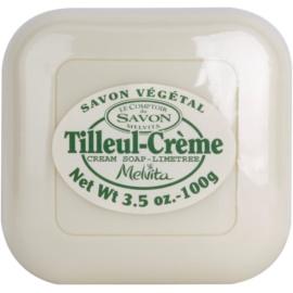 Melvita Savon rostlinné mýdlo Cream Soap - Limetree 100 g