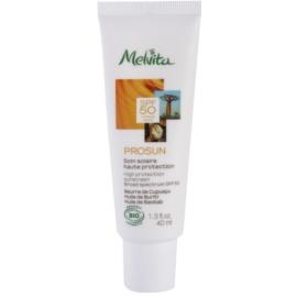 Melvita Prosun creme facial protetor com minerais SPF 50  40 ml