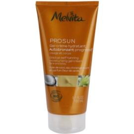Melvita Prosun gel crema autobronzant pentru fata si corp  150 ml