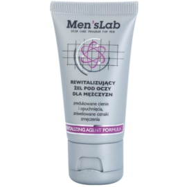 Men's Lab Revitalizing Agent Formula oční gel proti otokům a tmavým kruhům (Energy Booster) 30 ml