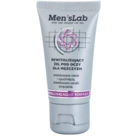 Men's Lab Revitalizing Agent Formula gel za predel okoli oči proti oteklinam in temnim kolobarjem (Energy Booster) 30 ml