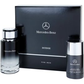 Mercedes-Benz For Men Intense Gift Set I. Eau De Toilette 120 ml + Deodorant Stick 75 g