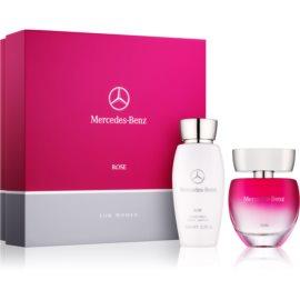 Mercedes-Benz Mercedes Benz Rose lote de regalo I. eau de toilette 60 ml + leche corporal 100 ml