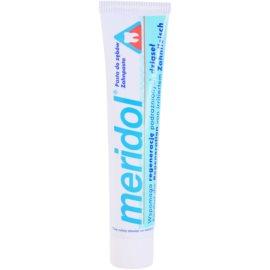 Meridol Dental Care Zahnpasta unterstützt die Regeneration von gereiztem Zahnfleisch  75 ml