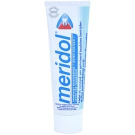 Meridol Dental Care Zahnpasta unterstützt die Regeneration von gereiztem Zahnfleisch ohne Schachtel  75 ml