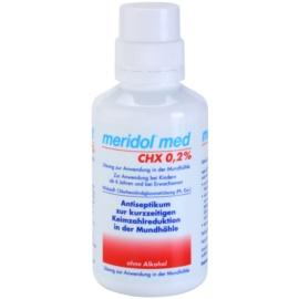 Meridol Med antiseptická ústní voda bez alkoholu  300 ml