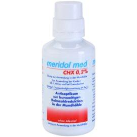 Meridol Med antyseptyczny płyn do płukania jamy ustnej bez alkoholu  300 ml
