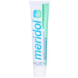 Meridol Halitosis pasta en gel para dientes y lengua contra el mal aliento   75 ml