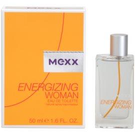 Mexx Energizing Woman Eau de Toilette para mulheres 50 ml