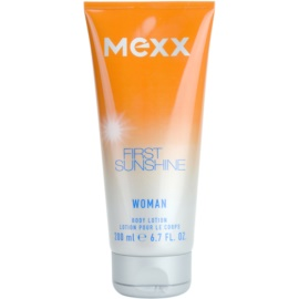 Mexx First Sunshine Woman Körperlotion für Damen 200 ml