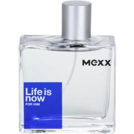 Mexx Life is Now for Him Eau de Toilette für Herren 75 ml