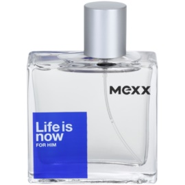 Mexx Life is Now for Him toaletna voda za moške 50 ml