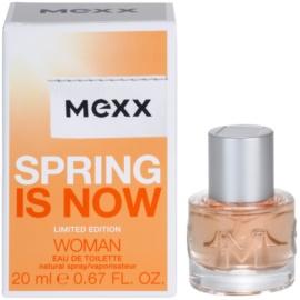 Mexx Spring is Now Woman Eau de Toilette pentru femei 20 ml