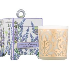 Michel Design Works Lavender Rosemary vela perfumada  184 g en vidrio