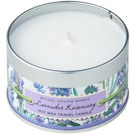 Michel Design Works Lavender Rosemary vonná svíčka 113 g v plechovce