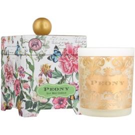 Michel Design Works Peony vela perfumado 397 g em vidro (65-80 Hours)