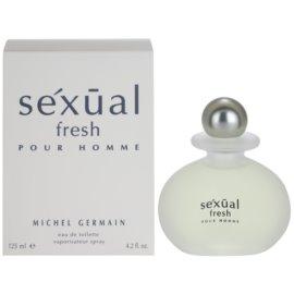 Michel Germain Sexual Fresh Pour Homme туалетна вода для чоловіків 125 мл