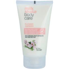 Milk Shake Body Care Flower Garden feuchtigkeitsspendende Creme für die Hände ohne Parabene und Silikone  150 ml